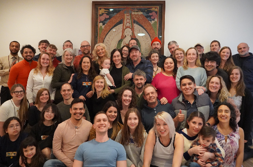 ::Our center provides a relaxed environment for bright minds to explore Buddha